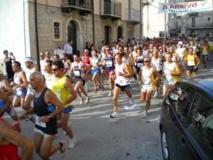 Un momento della 'Correndo Castellino 2013'
