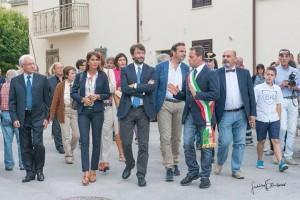 Il ministro Franceschini a Bonefro per l'inaugurazione della mostra permanente dedicata a Tony Vaccaro