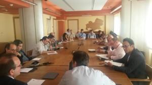 L'incontro tenutosi a Palazzo Vitale tra la Regione Molise e gli editori delle testate regionali