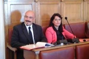 I consiglieri comunali Francesco Pilone e Marialaura Cancellario