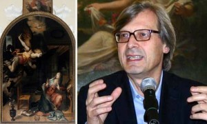 Vittorio Sgarbi e 'L'Annunciazione' di Teodoro D'Errico