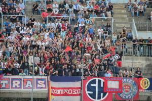 I tifosi del Campobasso in Curva Nord