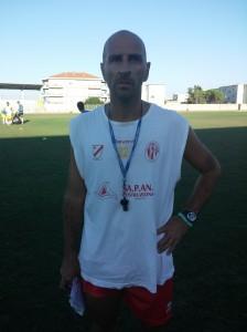 Pasquale Catalano, allenatore del Termoli (foto pinosomma.it)