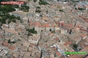 Il centro storico di Campobasso visto dall'alto