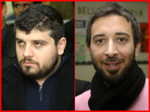I consiglieri nazionali dell'Ordine dei Giornalisti, Vincenzo Cimino e Cosimo Santimone