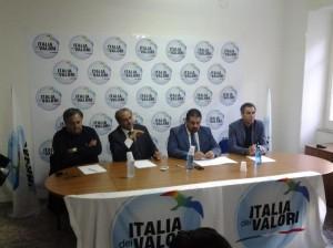 La conferenza di Antonio Di Pietro a Campobasso