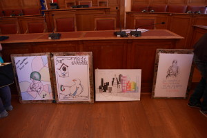 I disegni premiati