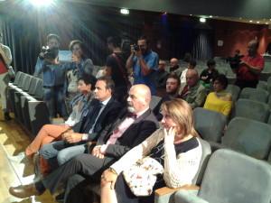 Il Governatore Frattura e il consigliere regionale Ioffredi alla presentazione