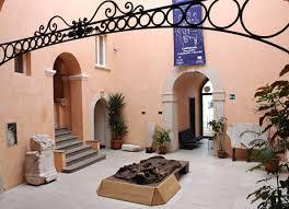 L'ingresso del Museo Sannitico di Campobasso