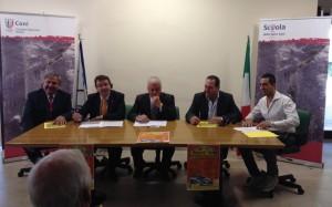 Un momento della presentazione del 15° Rally di San Giuliano del Sannio