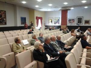 Tra gli uditori anche l'ex senatore Giuseppe Astore e il tributarista Franco Mancini