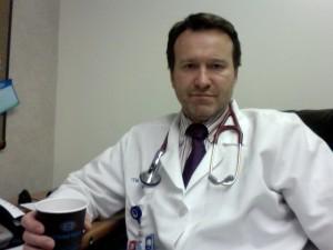 Il medico Antonio Sparano, responsabile del Centro per la diagnosi e la cura dell'ictus cerebrale