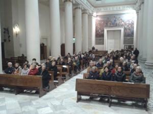 Il folto pubblico presente in Chiesa