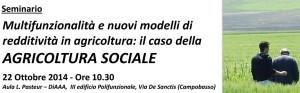 agricoltura sociale unimol