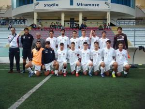 La juniores nazionale del Campobasso che ha sfidato il Manfredonia (foto profilo facebook società)
