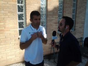 Intervistato il vice-allenatore Antonello Corradino allo stadio 'Tubaldi'