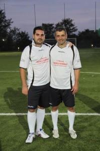 Antonello Corradino, il rinforzo del team dei giornalisti, insieme con il direttore di CBlive, Giuseppe Formato