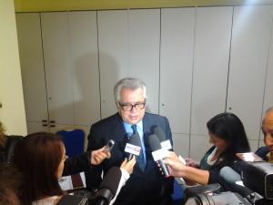 Michele Iorio nella conferenza stampa di lunedì 20 ottobre 2014