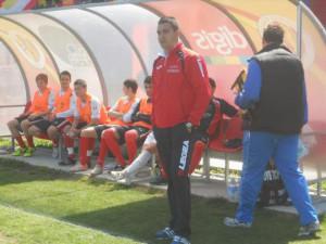 Nicola Lallopizzi, allenatore del Montenero