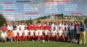 Il Matelica 2014/2015 (foto profilo facebook Calcio a Matelica)