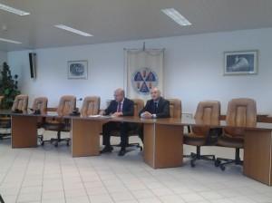 La conferenza del Rettore dell'Unimol, Gianmaria Palmieri