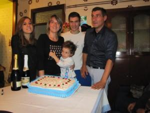 Pietro Cristofaro e la sua bella famiglia