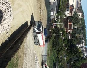 I lavori per la nuova scuola materna a Sant'Antonio dei Lazzari