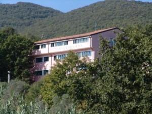 Uno scorcio di Villa Flora a Montaquila
