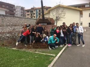 La prima classe all'Historiale di Cassino con il professor Zarriello