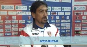 Francesco Farina, allenatore del Campobasso