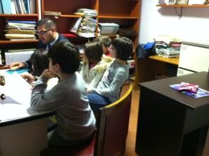 I 'giornalisti in erba' intervistano Giuseppe Formato