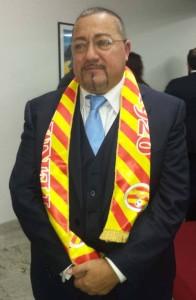 Il presidente Francesco Maria Calarco