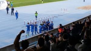 L'Isernia festeggia un gol