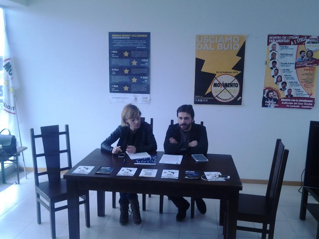 I consiglieri Patrizia Manzo e Antonio Federico