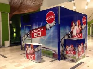 Il Cinema 6 D della ditta campobassana 'Movida Show'