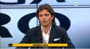 Vincenzo Cosco in una trasmissione a RaiSport