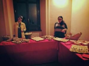 L'Archeo - aperitivo organizzato da Alessandra Capocefalo con l'aiuto dell'associazione Mu.Se
