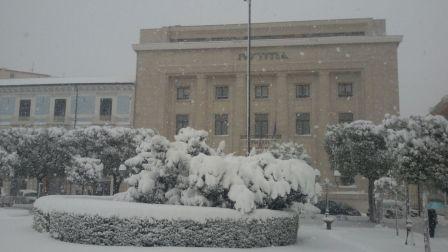 campobasso - il tribunale visto da piazza municipio