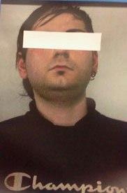 foto 23enne arrestato