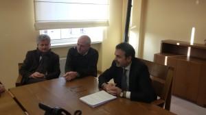 La conferenza di fine anno del Governatore Paolo di Laura Frattura