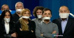 protesta stampa molisana