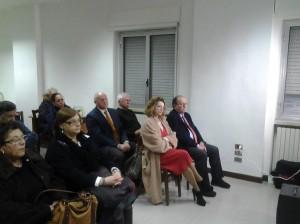 La politica molisana presente all'incontro: Nunzia Lattanzio, Rosario De Matteis, Antonio Battista, Alessandra Salvatore e (fuori quadro) Gigino D'Angelo