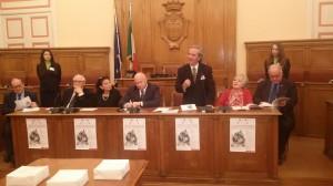 La presentazione dell'8^ Biennale dell'Incisione Italiana Contemporanea