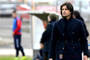 L'allenatore Vincenzo Cosco