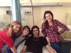 Vincenzo Cosco e famiglia
