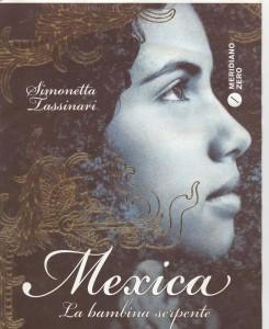 La copertina di 'Mexica - La bambina serpente'