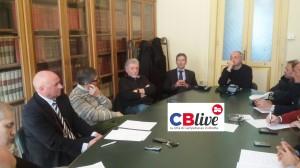 L'incontro tenutosi nella Sala Mancini di Palazzo San Giorgio