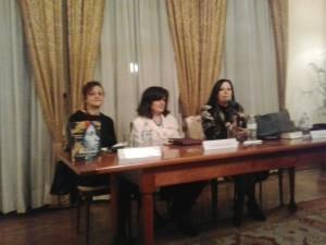 Un momento dell'incontro all'Ambasciata del Messico in Italia con Chierchia, Tassinari e Fraracci