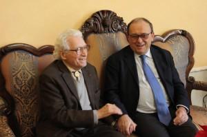 Il presidente De Matteis e Tony Vaccaro