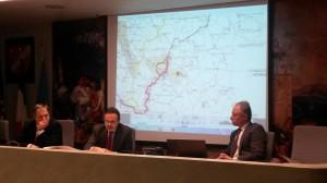 La conferenza stampa di Frattura, Nagni e Cocozza